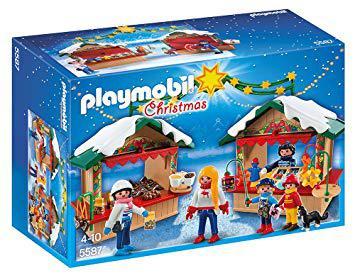 marché de noel playmobil