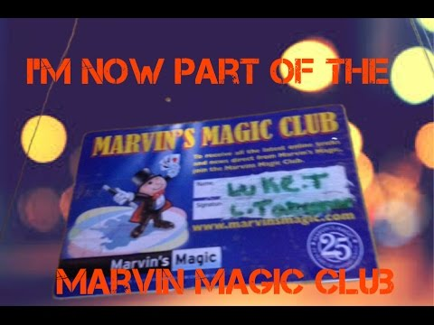 marvin's magic club