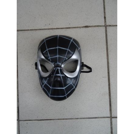 masque spiderman noir