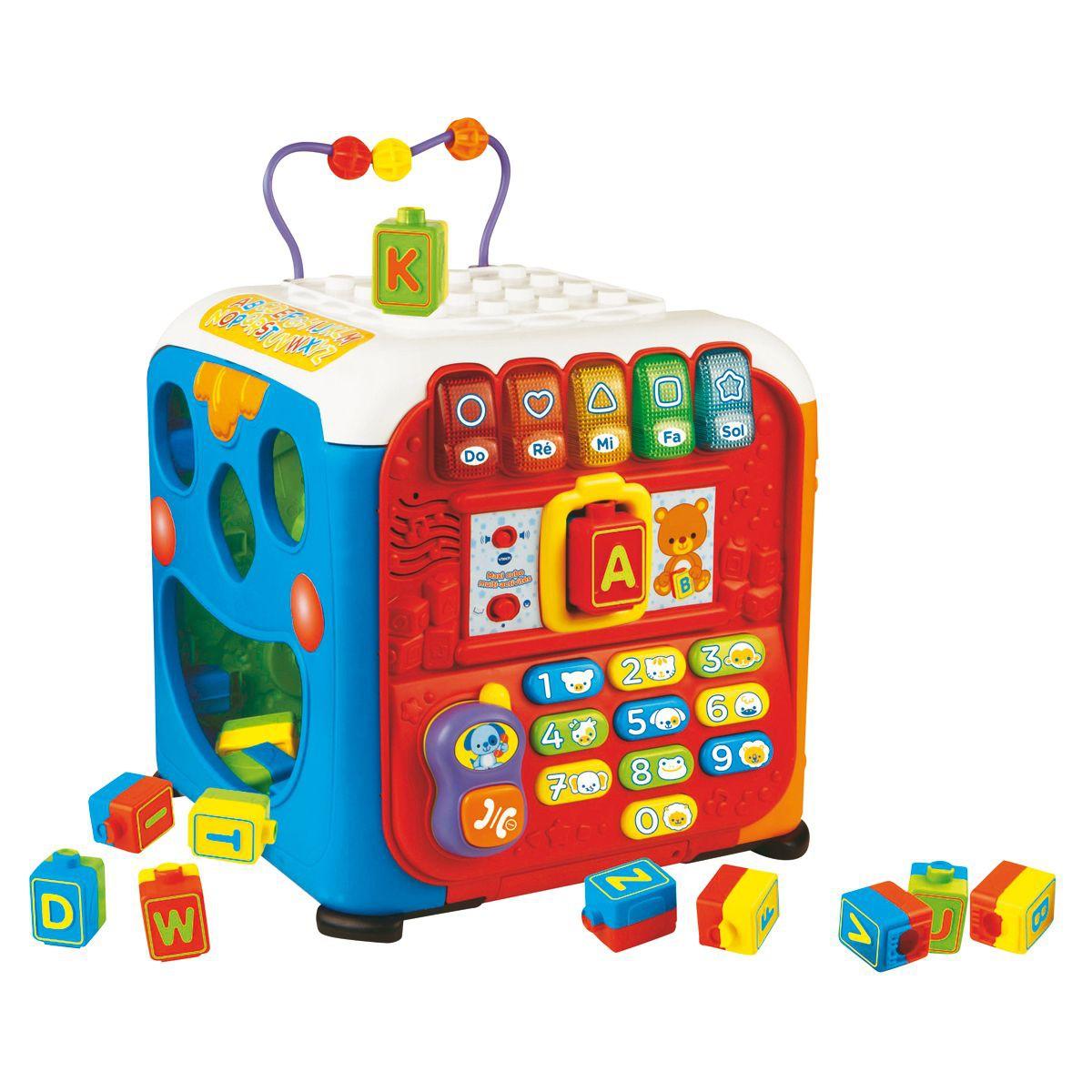 maxi cube d activité vtech
