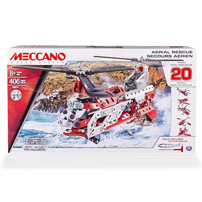 meccano helicoptere