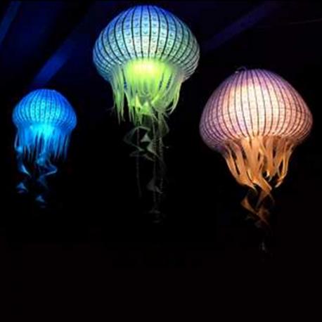 méduse lumineuse