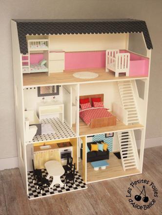 meuble maison barbie