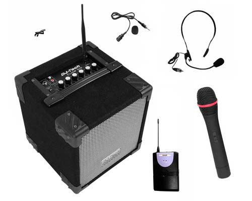 micro avec ampli