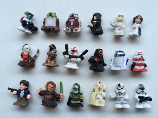 mini figurine star wars