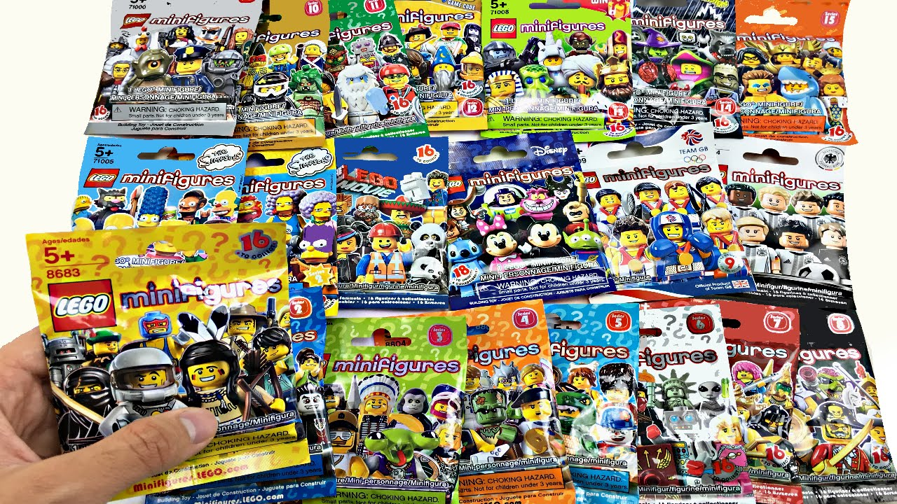 minifigures lego com