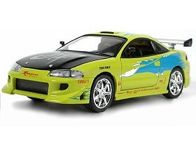 mitsubishi eclipse fast and furious 1 18