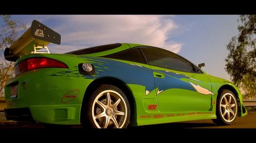 mitsubishi eclipse fast and furious 1