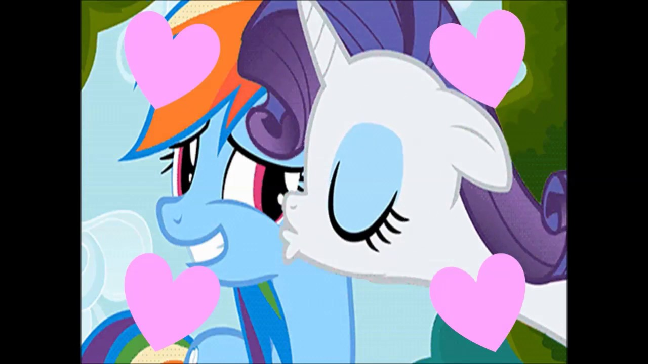 mlp rainbow dash and rarity