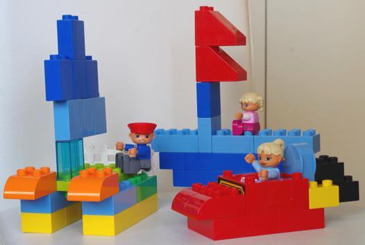 modele bateau lego