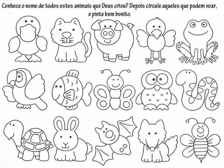 modele de dessin d animaux