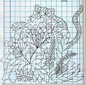 modele de dessin pour peinture sur soie