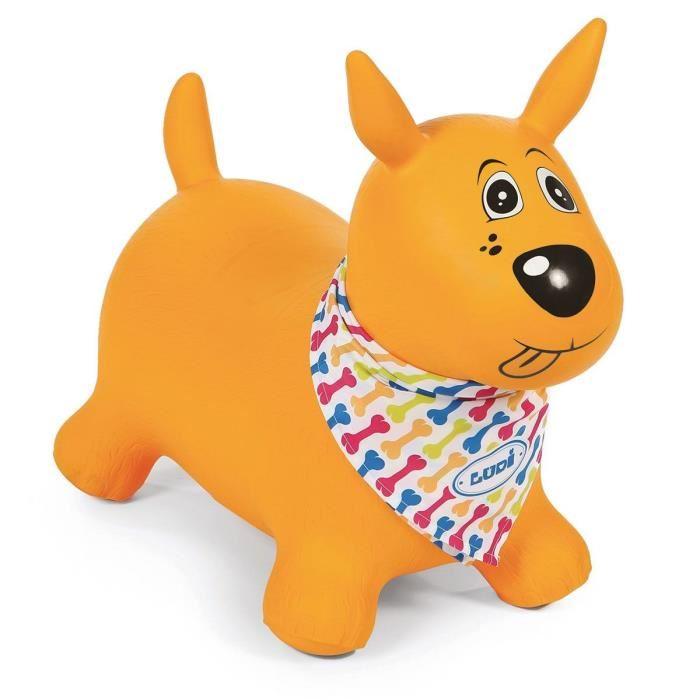 mon chien sauteur jaune