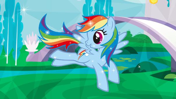 mon petit poney arc en ciel