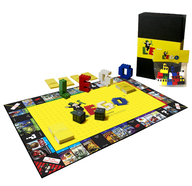 monopoly lego edition