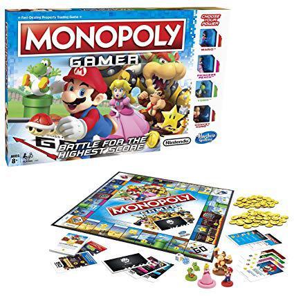 monopoly mario