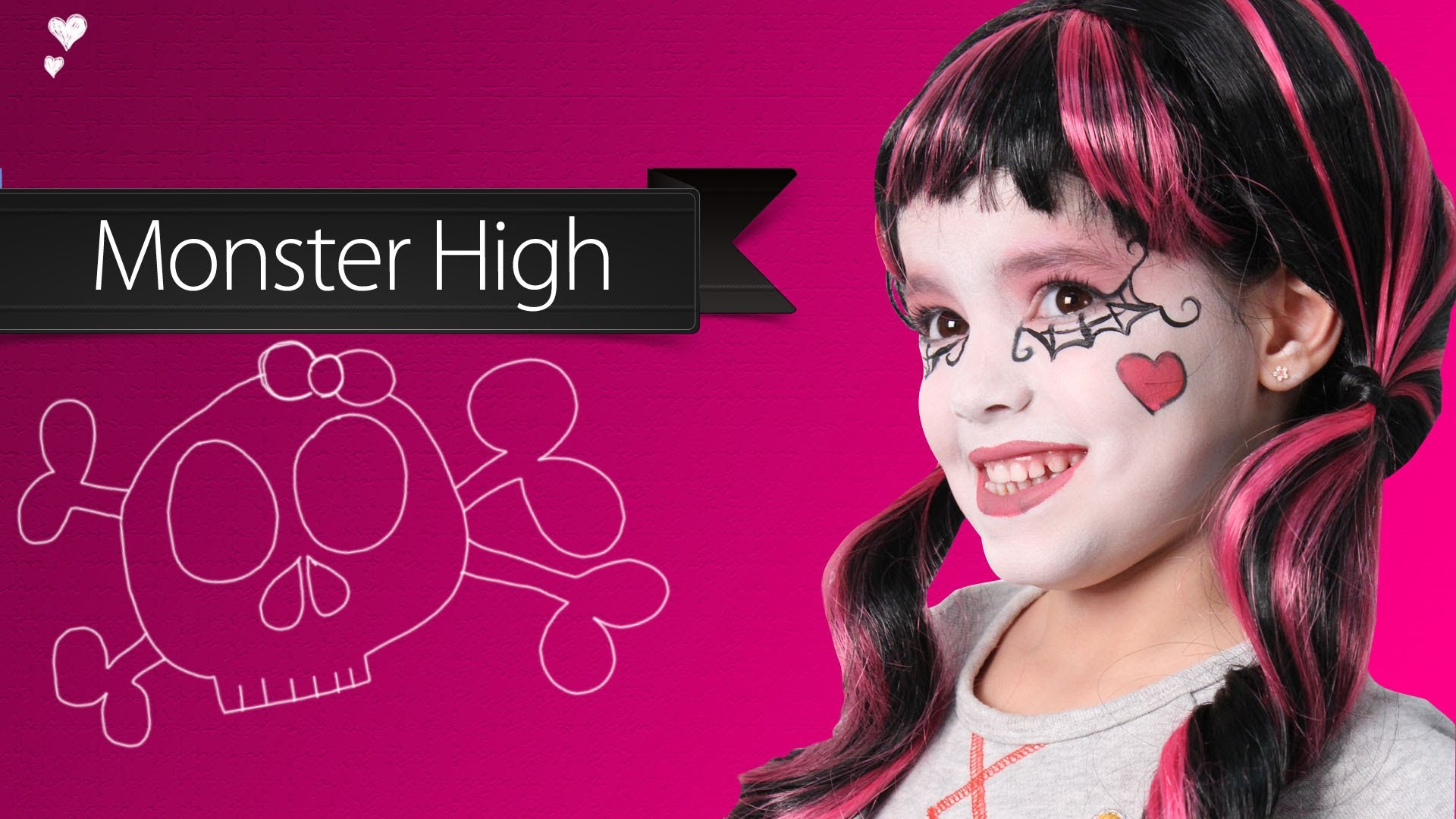 monster high maquillage