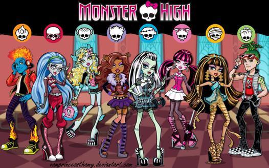 monster high world