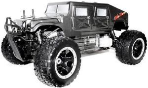 monster truck telecommande a essence