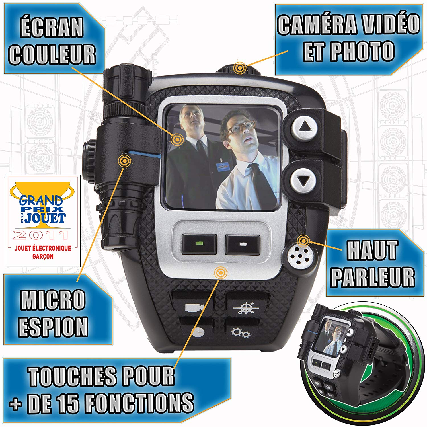 montre espion spy net