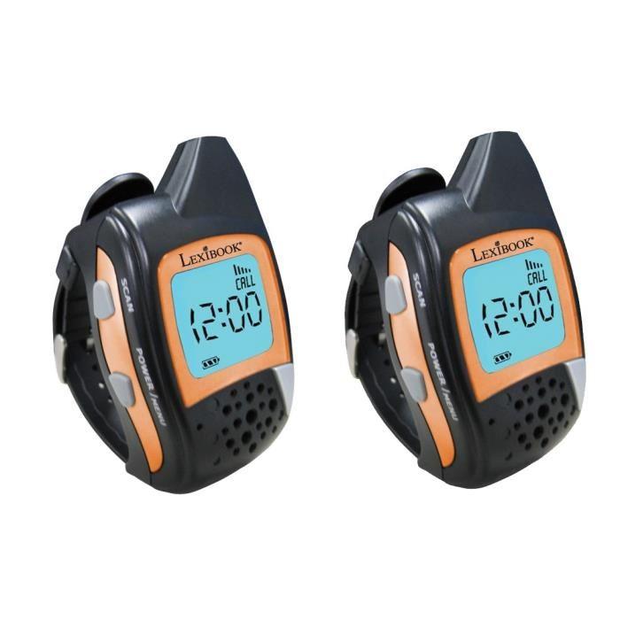 montre talkie walkie