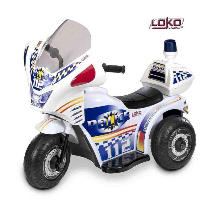moto de police electrique