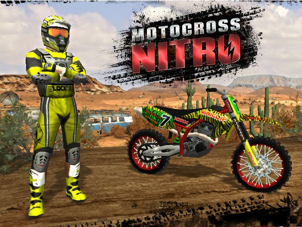 moto nitro jeux