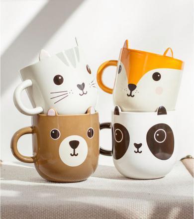 mug animaux