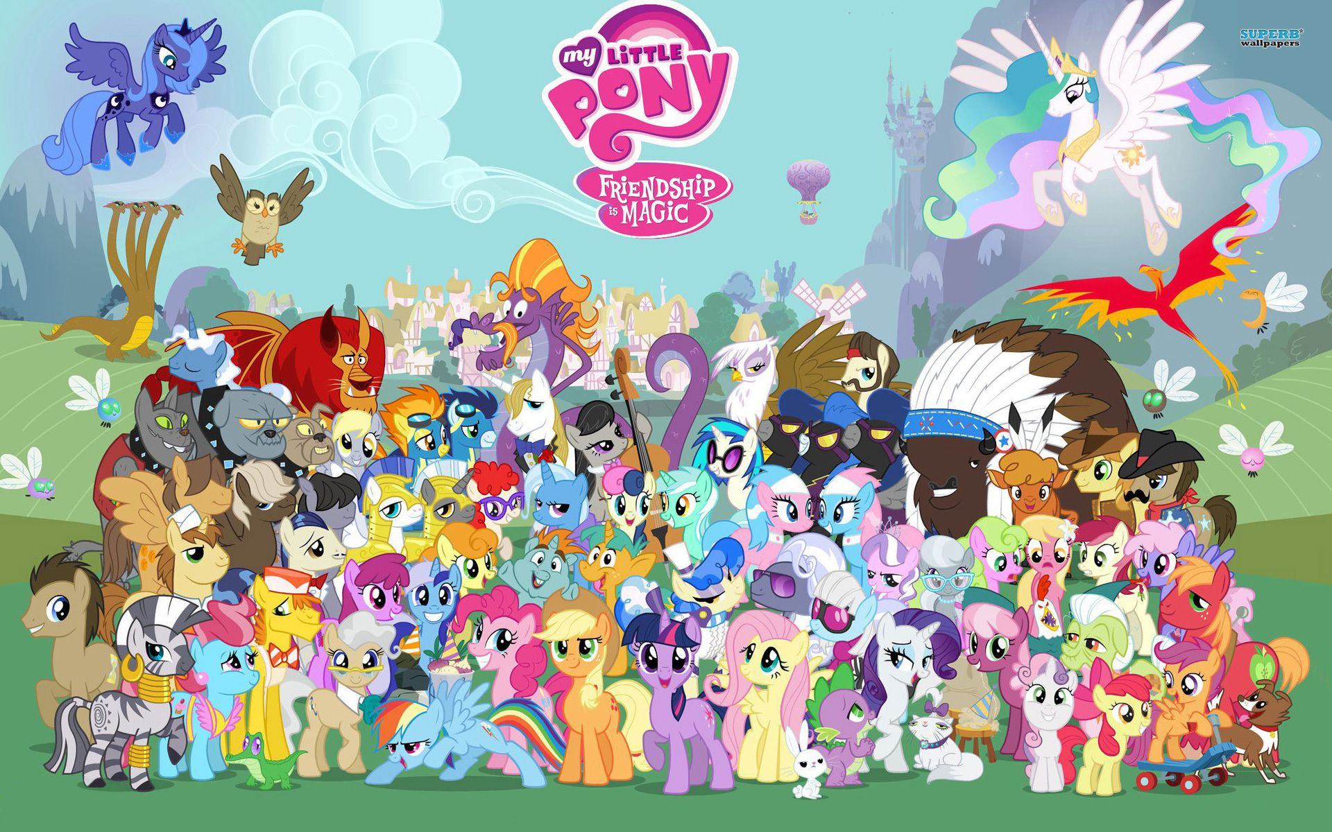 my little pony dessin animé