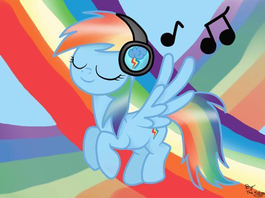 my little pony rainbow dash music