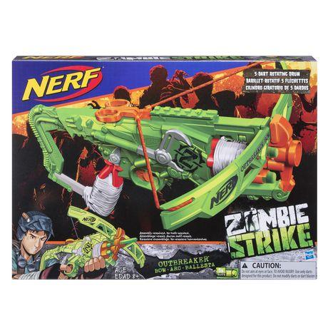 nerf arbalete zombie strike