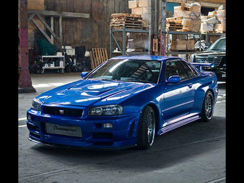 nissan gt r 2002 fast and furious