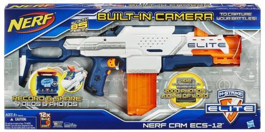 nouveau pistolet nerf