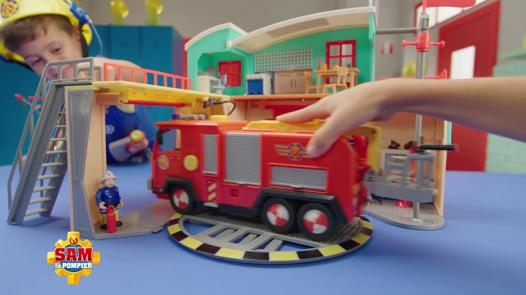 nouvelle caserne sam le pompier