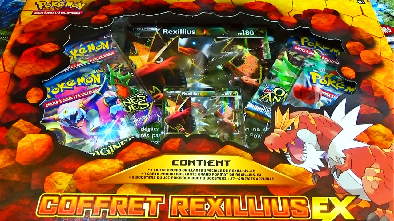 pack pokemon ex