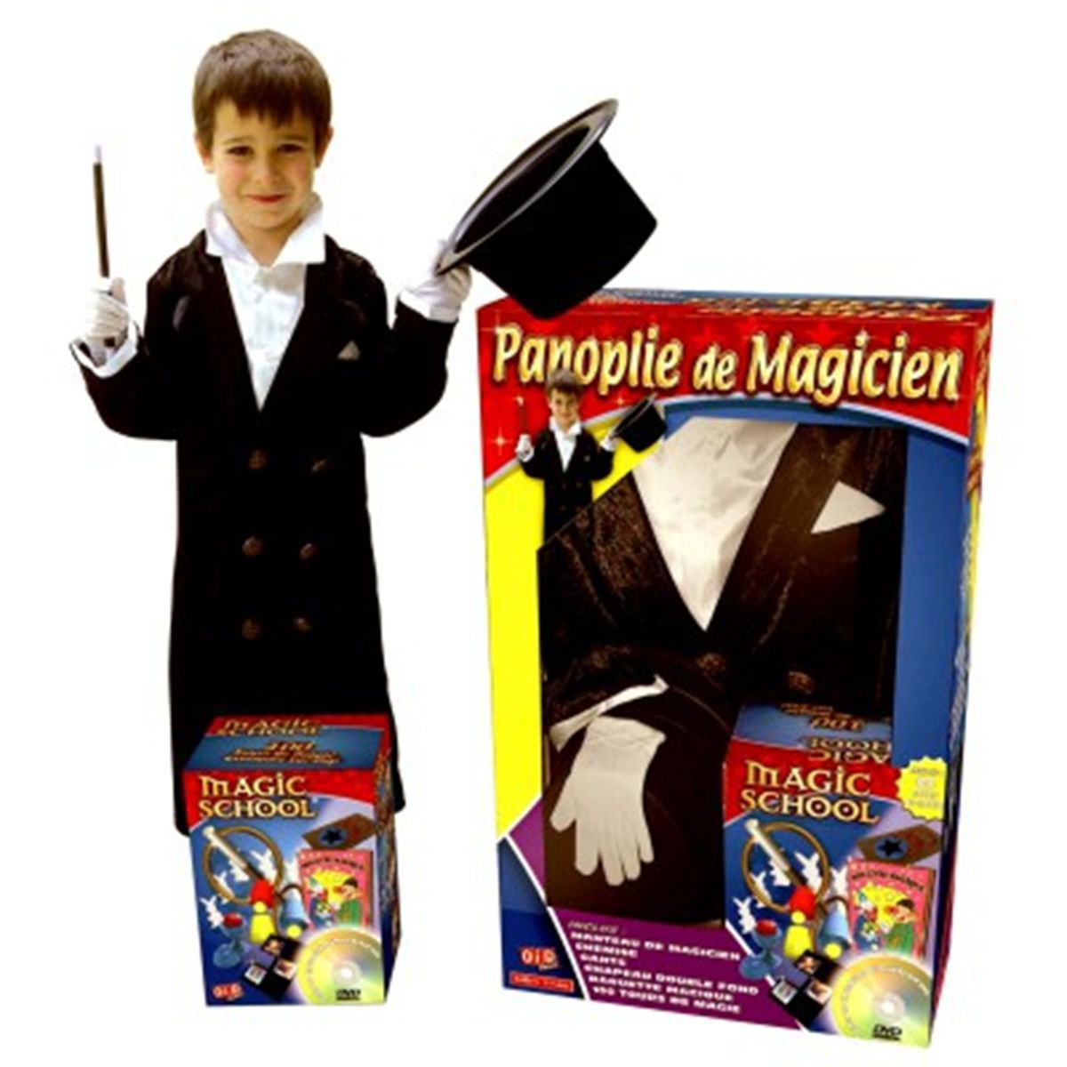 panoplie magicien