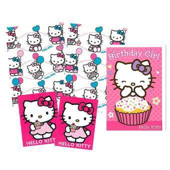 papier cadeau hello kitty