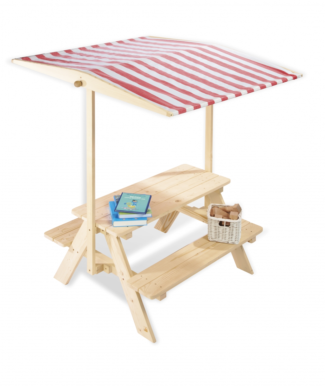 parasol table enfant