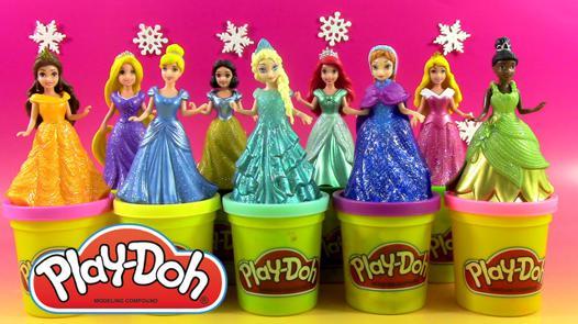 pate a modeler play doh princesse