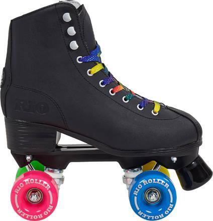 patin a roulette noir