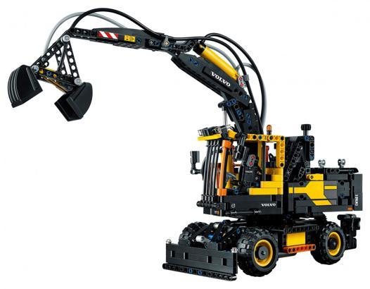 pelleteuse lego technic