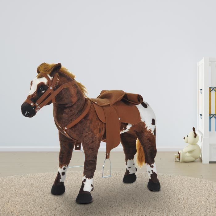 peluche cheval geant