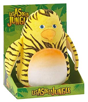 peluche les as de la jungle
