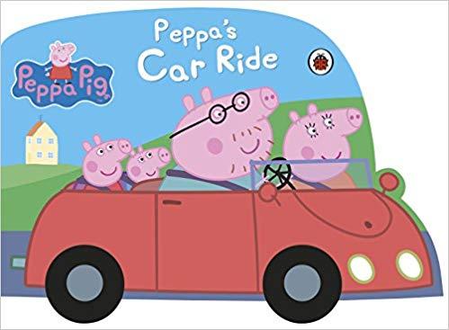 peppa pig car