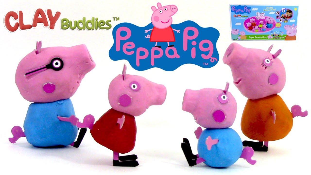 peppa pig pate a modeler