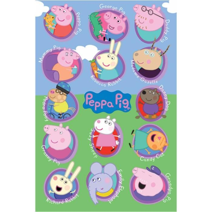 peppa pig personnages