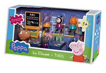 peppa pig salle de classe