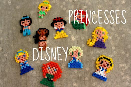 perle hama princesse disney
