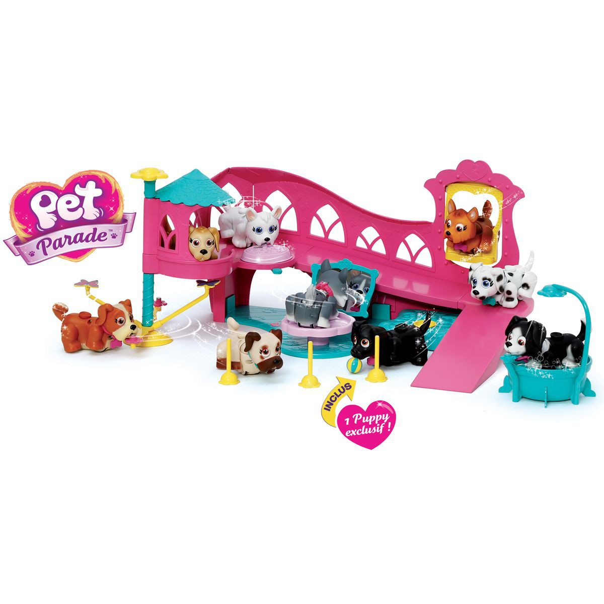pet parade aire de jeu