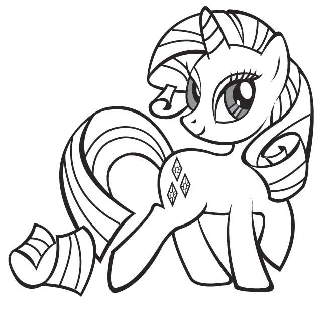 petit poney dessin